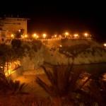 Balcón del Mediterráneo bei Nacht